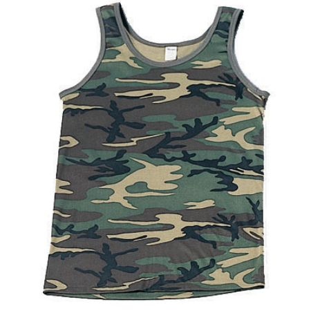9eacacdac92a0 T-Shirts :: Rothco Camouflage Tank Top - Woodland Camo - 6702 ...