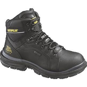 Cat Footwear Manifold Tough Steel Toe Waterproof Boot - Black - P89980
