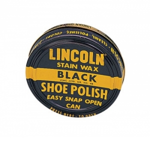 Rothco Lincoln USMC Blackstain Waxshoe Polish-3oz - 10110
