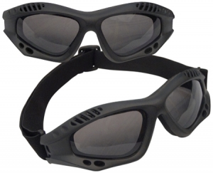 Rothco Black VenTec Tactical Goggle - 10377