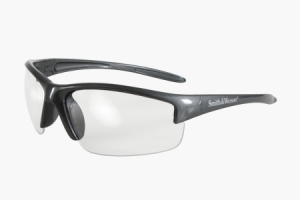 Rothco Smith & Wesson Equalizer Safety Eyewear-Gun Metal Fram/Clear Lens - 10614