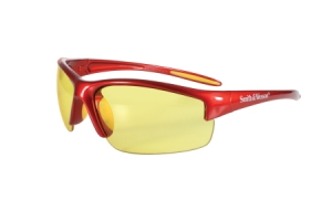 Rothco Smith & Wesson Equalizer Safety Eyewear-Red Frame/Amber Lens - 10615