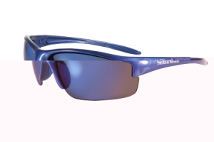 Rothco Smith & Wesson Equalizer Safety Eyewear-Blue Frame/Blue Mirror Lens - 10616