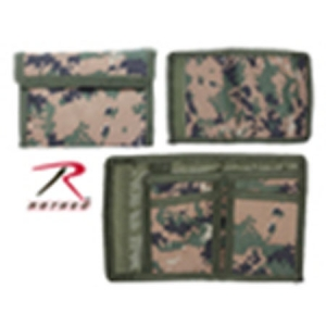 Rothco Woodland Digital Nylon Commando Wallet - 10635