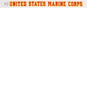 Rothco United States Marine Corp Decal - 1212