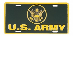Rothco U.S. Army License Plate - 1377