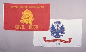 Rothco USMC Devil Dogs Flag  - 3 feet by 5 Feet - 1461