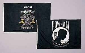 Rothco Special Forces Mess with Best Flag - 3 feet by 5 Feet - 1462