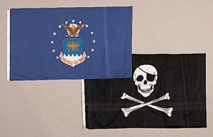 Rothco Jolly Roger Flag - 3 feet by 5 Feet - 1464