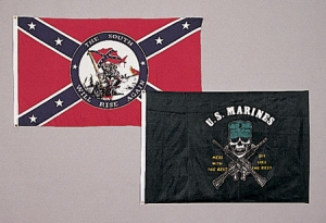 Rothco USMC Mess with Best Flag - 3 feet by 5 Feet - 1477
