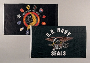 Rothco U.S. Navyseals Flag - 3 feet by 5 Feet - 1478