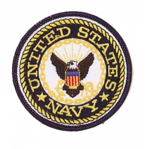 Rothco US Navy 3 Round Patch - 1590