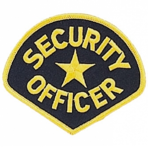 Rothco Security Officer Patch - 1686