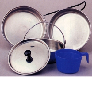 Rothco Stainless Steel 5-piece Mess Kit - 169