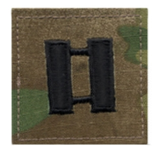 Rothco Multicam Captain Embroidered Rank Insignia - 1797