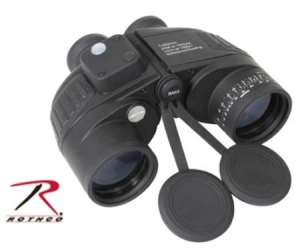 Rothco Black Military Type 7 X 50mm Binoculars - 20273