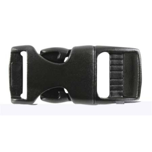 Rothco 5/8 inch Black Side Release Buckle - 204