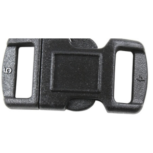 Rothco 3/8 inch Black Side Release Buckle - 209