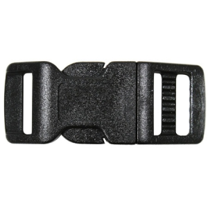 Rothco 1/2 inch Black Side Release Buckle - 210