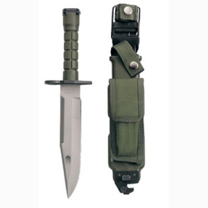 Rothco G.I. Type O.D. M-9 Bayonet and Sheath - 2134