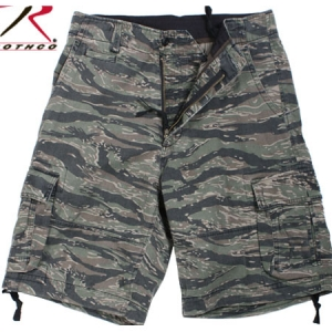 Rothco Tiger Stripe Camo Vintage Infantry Utility Shorts - 2214
