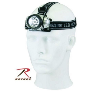Rothco 9-Bulb LED Headlamp - 227
