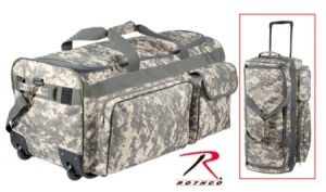 Rothco Army Digital Camo 30 inch Military Expedition Wheeled Bag - 2654