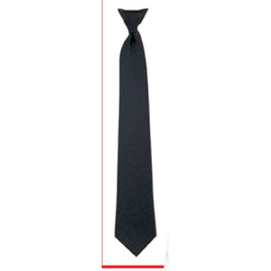 Rothco Black Police Issue Clip-on Neckties - 30084
