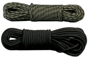Rothco 100 Foot Black 3/8 inch General Purpose Utility Rope - 315