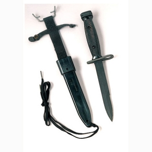 Rothco Geniune M-7 Bayonet with scabbard - 3280