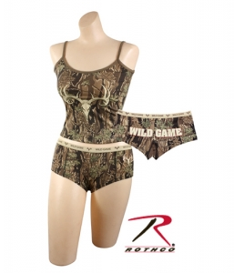 Rothco Womens Smokey Branch Camo Wild Game Booty Short - 3485