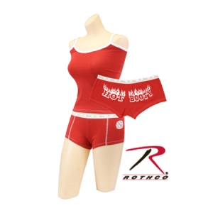 Rothco Womens Red Firefighter Hot Booty short - 3972