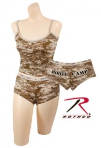 Rothco Womens Desert Digital Camo Booty Camp Short - 3973