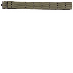 Rothco Olive Drab. G.I. Style Canvas Pistol Belts with metal Buckles - 4218