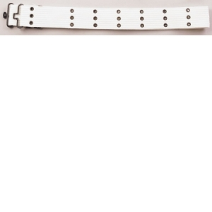 Rothco G.I. Style White Canvas Pistol Belts with metal Buckles - 4226