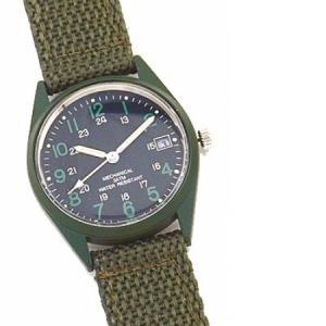 Rothco G.I. Vietnam Era Type O.d. Wind-up Watch - 4228