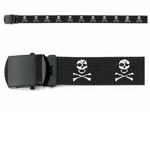Rothco Inchjolly Roger Inch Web Belt - 54 Inch - 4284