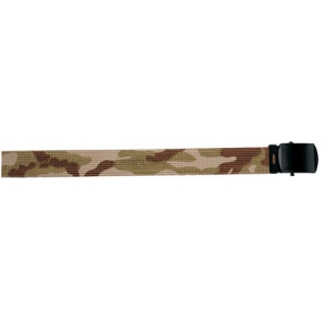 Rothco Tri-Color Desert Camo/Tan Reversible Web Belt-54 inch - 4382