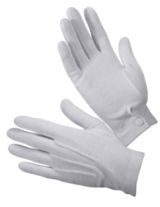 Rothco White Parade Gloves w/Gripper Dots - 4411