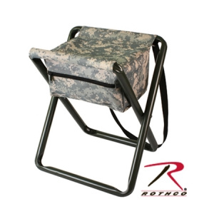 Rothco Deluxe Army Digital Camo Folding Stool with Pouch - 4546