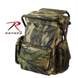 Rothco Camo Backpack and Stool Combination - 4548