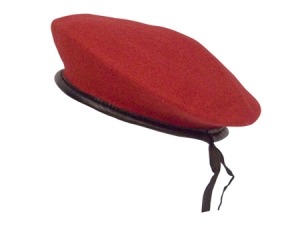 Rothco Red Wool Monty Beret - 45992
