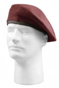 Rothco G.I. Type Inspection Ready Wool Maroon Beret - 4929