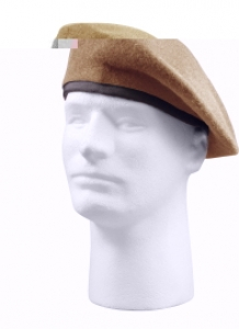 Rothco G.I. Type Inspection Ready Wool Tan Beret - 4939