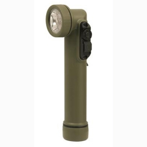 Rothco Olive Drab Led Mini Army Style Flashlight - 527