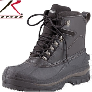 Rothco Black Cold Weather Hiking Boot - 5459
