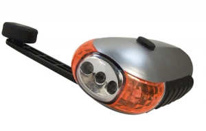 Rothco Wind Up 5 LED Flashlight - 548