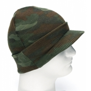 Rothco Deluxe Woodland Jeep Cap - 5708