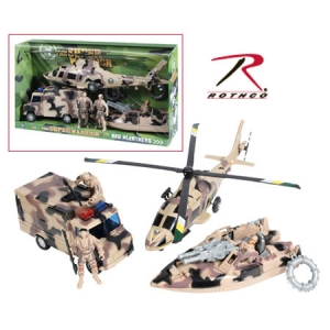 Rothco Kids Super Warrior Vehicle Play Set - 572