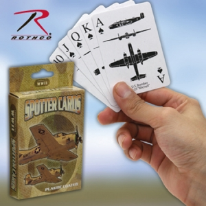 Rothco WWII Spotter Playing Cards - 577